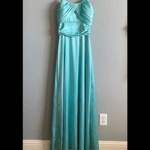 Nicole x Nicole Miller Formal Dress In Teal. Size4